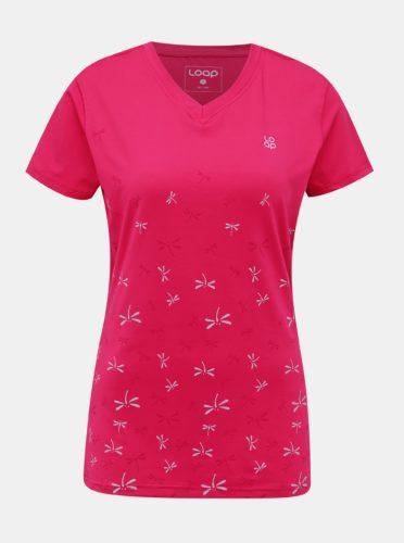 Růžové dámské sportovní tričko LOAP Melvika