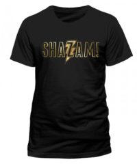 Tričko Shazam – Gold Foil Logo