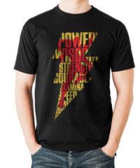 Tričko Shazam – Lightning Silhouette