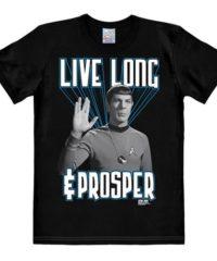 Tričko Star Trek – Live Long and Prosper