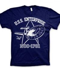 Tričko Star Trek – U.S.S. Enterprise, modré
