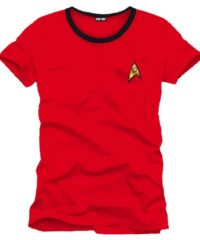 Tričko Star Trek – Uniforma (červené)