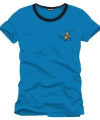 Tričko Star Trek – Uniforma (modré)