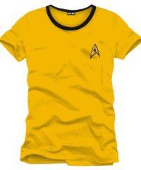 Tričko Star Trek – Uniforma (žluté)