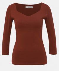 Vínové dámské basic tričko Haily´s Noa