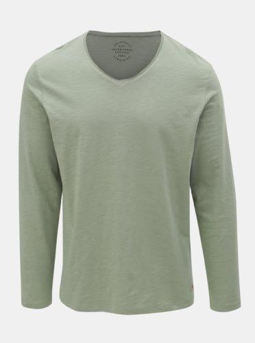 Zelené basic tričko Jack & Jones Birch