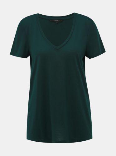 Zelené basic tričko VERO MODA Spicy