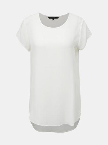 Krémové dlouhé tričko VERO MODA Boca