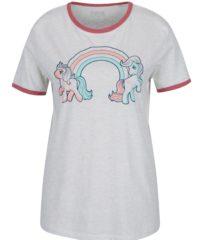 Šedé dámské tričko s potiskem ZOOT Original Ponny