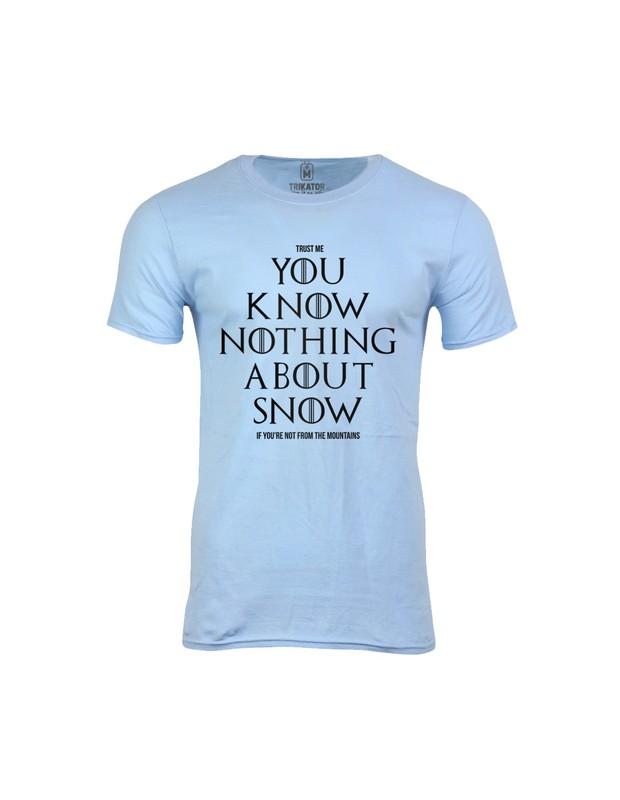 Pánské tričko  Dont Know Snow